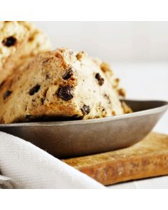 Chocolate Chip Scones with Haupia Dipping Sauce
