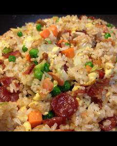 A La Carte: Heart-y Fried Rice