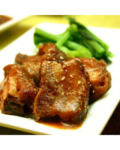 Single Entrée: Braised Okinawan Pork with Sweet Potato Mash