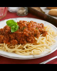 Single Entrée: Spaghetti Bolognese with Ground Turkey